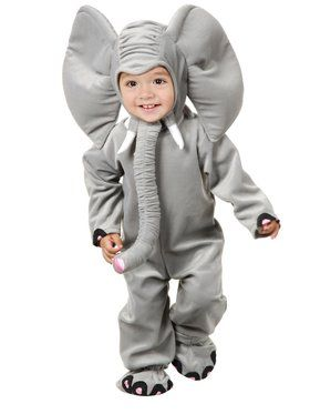 Little Elephant Child Costume