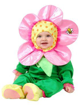 Little Flower - Newborn Child Costume
