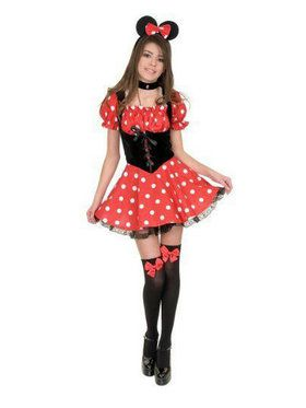 Little Miss Mouse w/ Petticoat Child Costume