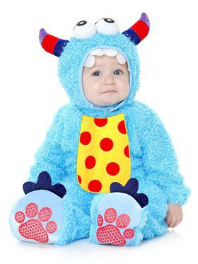 Little Monster Madness - Infant Child Blue