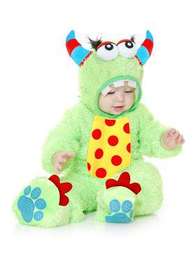Little Monster Madness - Infant Child Lime