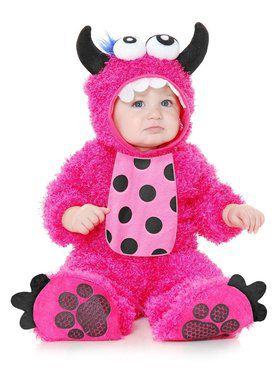 Little Monster Madness - Infant Child Pink
