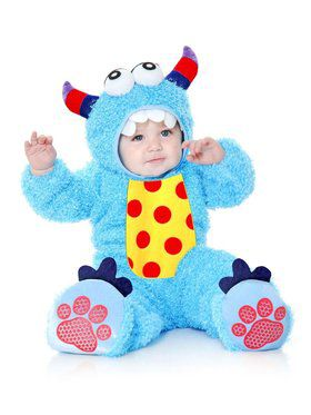 Little Monster Madness - Toddler Child Blue