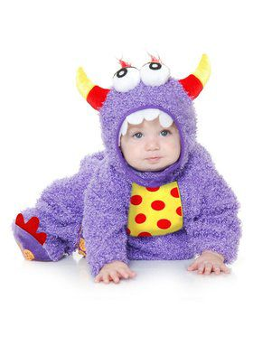 Little Monster Madness - Toddler Child Purple