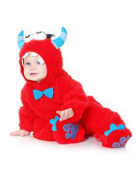 Little Monster Madness - Toddler Child Red
