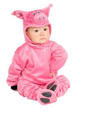 Little Pig - Newborn Child Costume