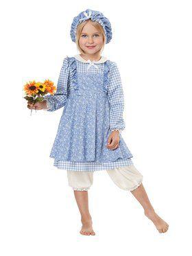 Little Prairie Girl Costume