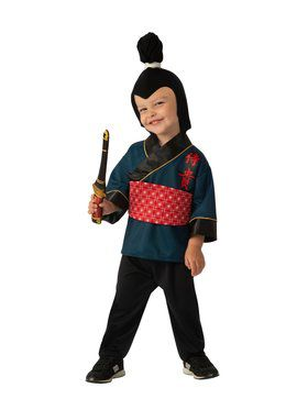 Little Samurai Child Costume