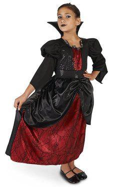 Little Vampire Queen Child Costume