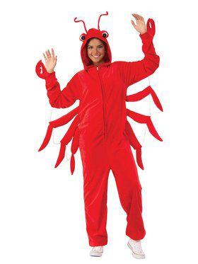 Lobster Comfy Wear Adult Costume