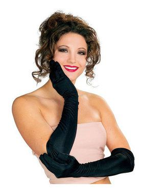 Elegant Black Gloves