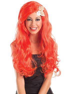 Mermaid Long Wig with Shells