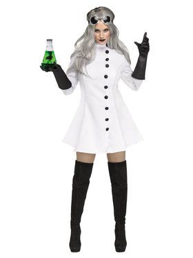 Mad Scientist Women's Costume