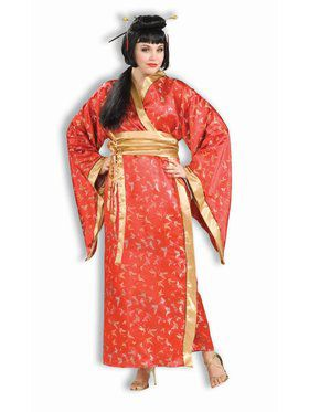 Madame Butterfly - Plus Adult Costume