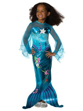 Magical Mermaid Costume Deluxe (Toddler/Child)