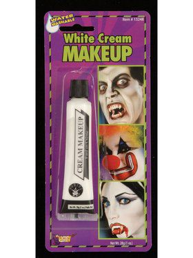 Makeup Tube - White