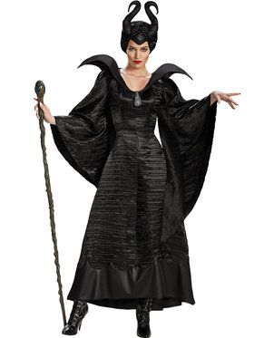 Maleficent Christening Black Gown Adult
