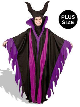 Maleficent Adult Plus Witch Costume