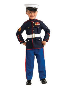 Child Marine Costume
