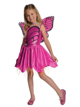 Mariposa Barbie Kids Costume