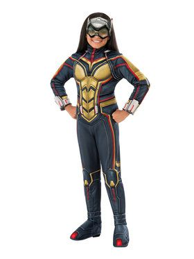 Girl's Deluxe Marvel Wasp Costume