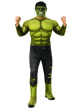 Marvel - Avengers: Infinity War - Deluxe Incredible Hulk - Costume for Men