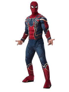 Marvel Avengers Infinity War Deluxe Mens Iron Spider Costume