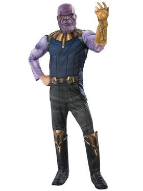 Marvel Avengers Infinity War Deluxe Mens Thanos Costume