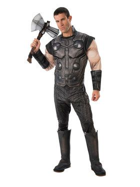 Marvel - Avengers: Infinity War - Deluxe Thor - Costume for Men