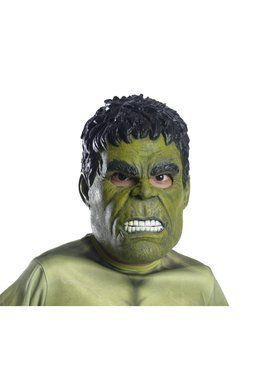 Marvel - Avengers: Infinity War - Incredible Hulk - 3/4 2018 Halloween Masks for Children