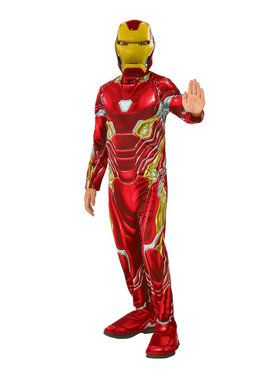 Marvel Avengers Infinity War Iron Man Boys Costume