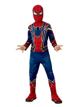 Marvel Avengers Infinity War Iron Spider Boys Costume