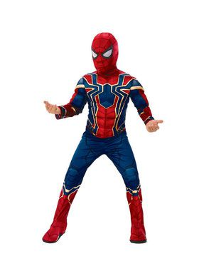Marvel Avengers Infinity War Iron Spider Deluxe Boys Costume