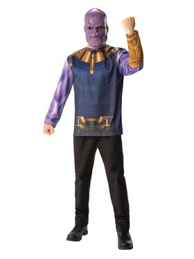 Marvel: Avengers: Infinity War Thanos Long Sleeve Top for Men