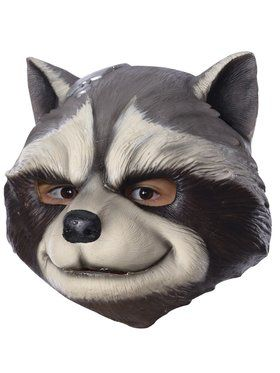 Marvel - Avengers: Infinity War - Rocket Raccoon - 3/4 2018 Halloween Masks for Children