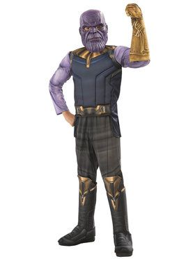 Marvel - Avengers: Infinity War - Deluxe Thanos - Costume for Boys
