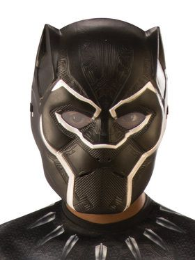 Child's Black Panther 2018 Halloween Masks