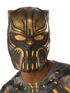Adult's Marvel's Black Panther Erik Killmon 2018 Halloween Masks