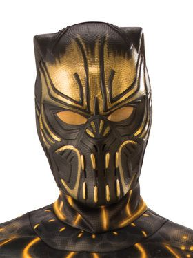 Child's Marvel Black Panther Erik Killmon 2018 Halloween Masks