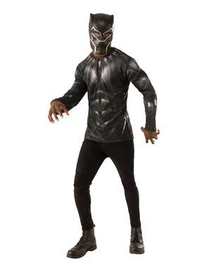 Marvel: Black Panther Movie Mens Black Panther Costume