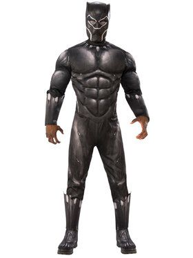 Men's Deluxe Black Panther Costume