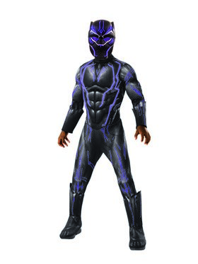 Marvel Black Panther Movie Super Deluxe Boys Light Up Black Panther Costume  sc 1 st  BuyCostumes.com & Marvel Comics Costumes - Halloween Costumes | BuyCostumes.com