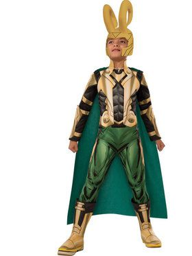 Marvel Deluxe Loki Boys Costume