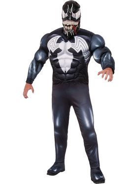 Marvel Men's Deluxe Venom Costume