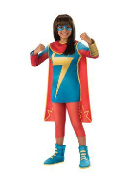 Marvel Rising - Secret Warriors Deluxe Ms. Marvel Child Costume