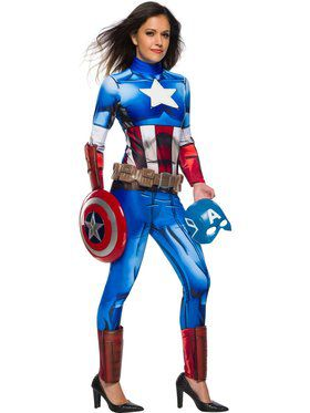 Marvel Universe Captain America Women's Costume