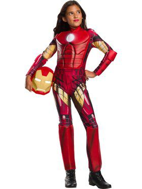 Marvel Universe Iron Man Child Costume