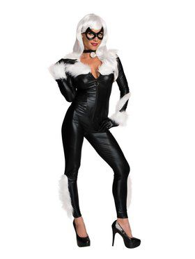 Marvel Women's Sexy Black Cat Costume