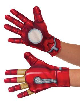 Marvel's Captain America: Civil War Iron Man Kids Gloves