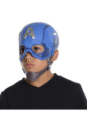 Kids Captain America Full Mask